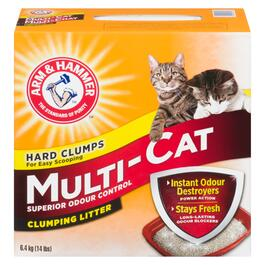 Arm & Hammer Multi-Cat Clumping Cat Litter - 6.4kg
