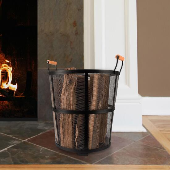 Pleasant Hearth Log Bin
