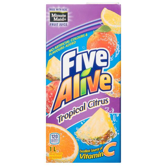 Five Alive Tropical Citrus - 1L