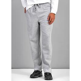 Mountain Ridge Men's Grey Fleece Pants with Hemmed Ankle - S-XL