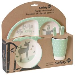Safety 1st Bamboo Feeding Set - Love You Dearly