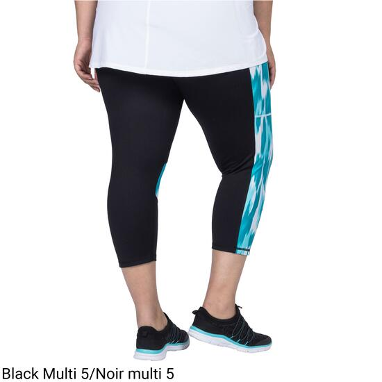 ACX Active Women's Plus Printed Capri - 1X-3X