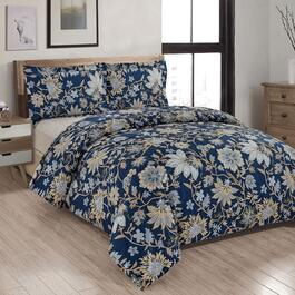 Millano Wildflower Printed Duvet Cover Set - 3pc.