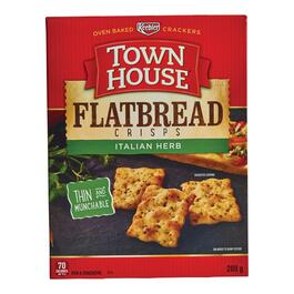 Town House Flatbbread Italian Herb Crackers - 269g