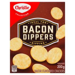 Christie Bacon  Dippers Crackers - 200g