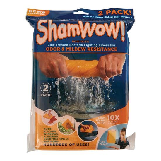 As Seen On TV Shamwow - 2pk.