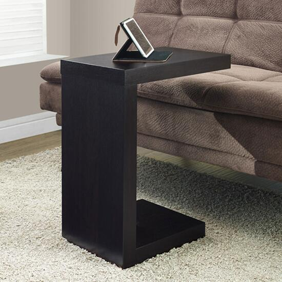 Monarch Specialties Inc. Modern Accent/Tray Table - Cappuccino