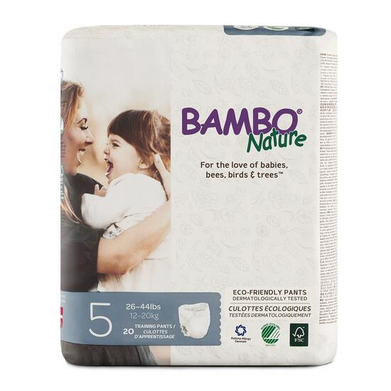 Bambo Nature Size 5 Training Pants 5 x 20pk.