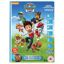Paw Patrol Advent Calendar - 50g