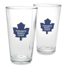 NHL Toronto Maple Leafs Pint Glass - 2pk.