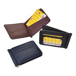 Mountain Ridge Men's Card Holder and Money Clip