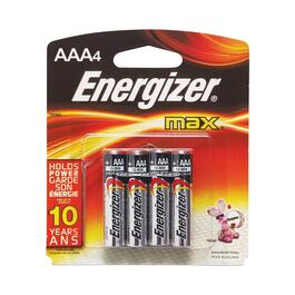 Energizer Max AAA Batteries - 4pk.