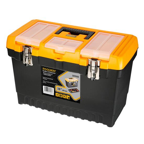 Toolway Jumbo Professional Toolbox - 19in.