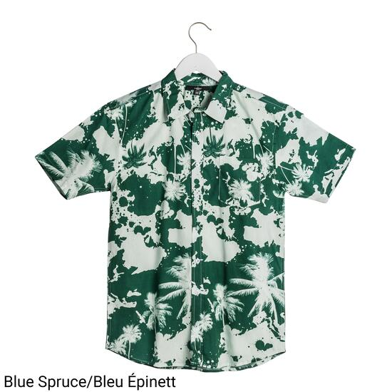 Mountain Ridge Men's Printed Tropical Shirt - S-XXL