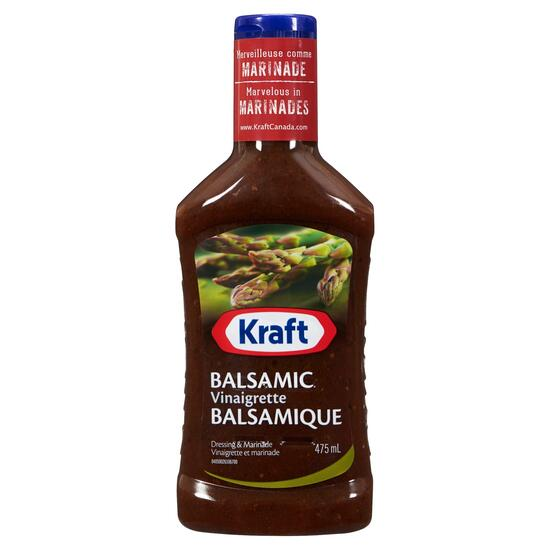 Kraft Balsamic Dressing and Marinade - 475ml
