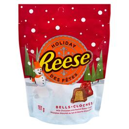 Reese Holiday Bells Chocolate Peanut Butter Candy - 161g