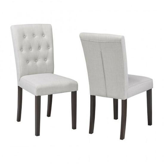 Brassex Beige Soho Dining Chair - 2pc.
