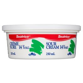 Beatrice Sour Cream 14 % M.F. - 250ml