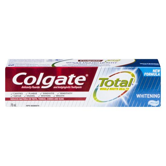Colgate Total Whitening Toothpaste - 70ml
