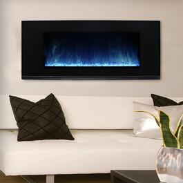 Paramount Mirage Wall Mount with Multi-Colour Flames - 50in.