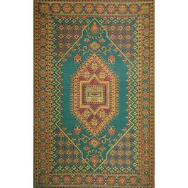 Mad Mats Runner Turkish Indoor/Outdoor Carpet - Aqua