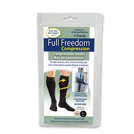 Mens Beige Microfiber Compression Sock - 2pk.