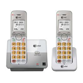 AT&T EL51203 Cordless Phone System with 2 Cordless Handsets