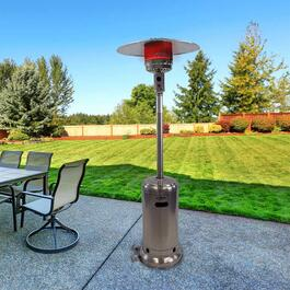 Dyna Glo Deluxe Patio Heater - Stainless Steel