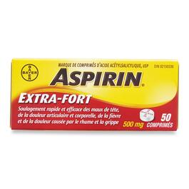Aspirin Extra Strength Pain Reliever - 50pk.