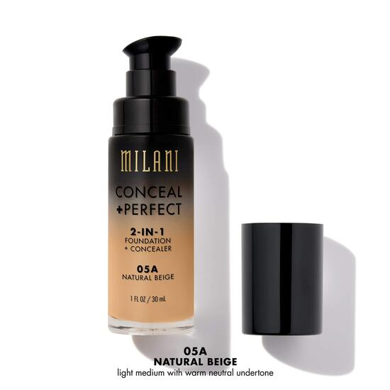 Milani Conceal + Perfect 2-in-1 Foundation + Concealer - Natural Beige