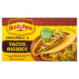 Old El Paso Dinner Kit Hard Taco - 250g