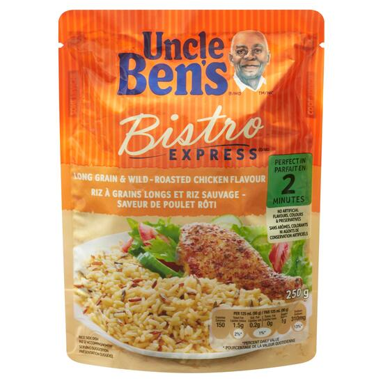 Uncle Ben's Bistro Express Roasted Chicken Long Grain and Wild Rice -  250g