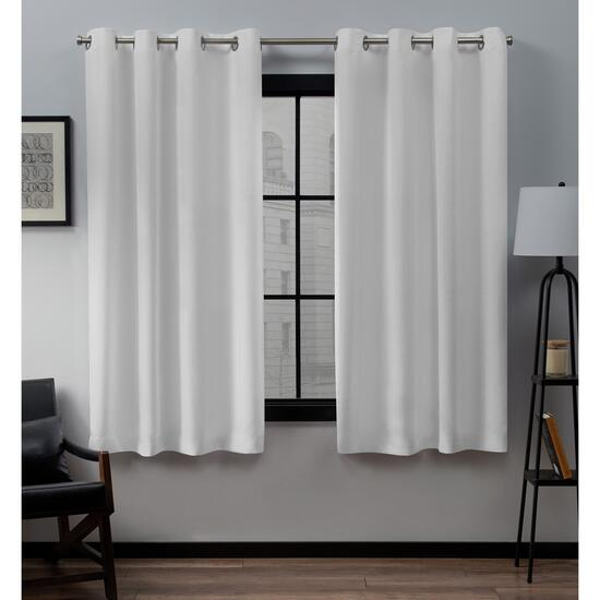 Exclusive Home Loha Linen Curtains - 63in.