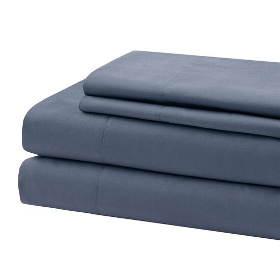 Beauty Rest Blue Double Sheet Set - 4pc.