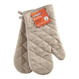 Proctor Silex Taupe Oven Mitts