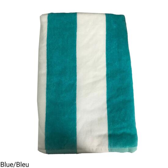Reversible Cabana Beach Towel - 60in.