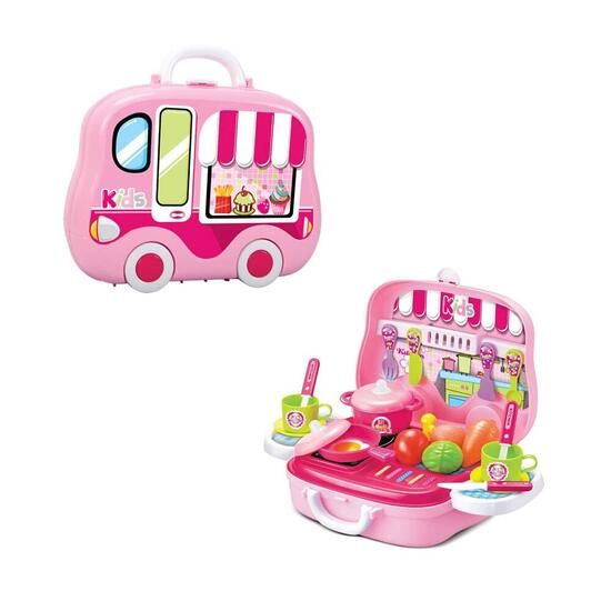 Toy Chef Children's Portable Mini Toy Kitchen Set
