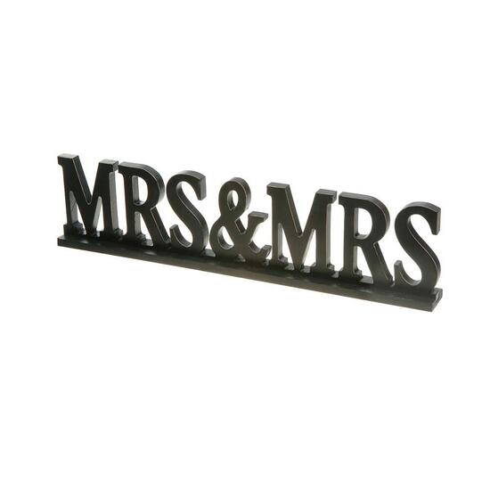 Mrs. and Mrs. Sign