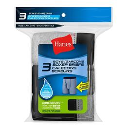 Hanes Boy's Extra Large Boxer Briefs - 3pk.