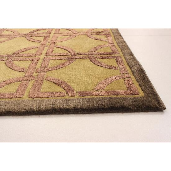 eCarpetGallery Hand-Knotted Silk Touch Rug - 3.4ft. x 5.5ft.