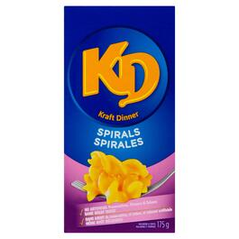 Kraft Dinner Macaroni and Cheese Spirals - 175g