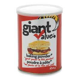 Giant Value Baking Powder - 454g