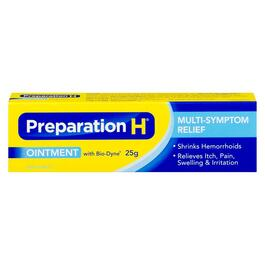 Preparation H Ointment with Bio-Dyne - 25g