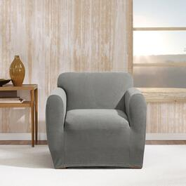 Surefit Stretch Morgan Grey Slipcover for Chair - 1pc.