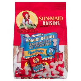 Sun-Maid Raisins Vanilla Yogurt Raisins 10pk. - 140g