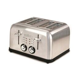 Salton Electronic Toaster Stainless Steel - 4 Slice