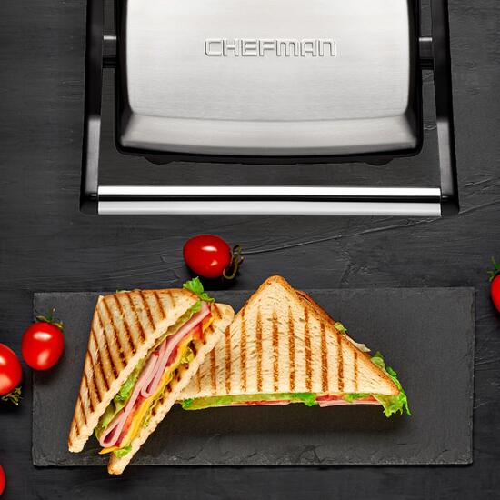 Chefman Panini Press Grill and Sandwich Maker