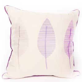 Gouchee Design Lilac Forest Cushion - 18in.