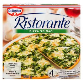 Dr. Oetker Ristorante Spinach Thin Crust Pizza - 390g