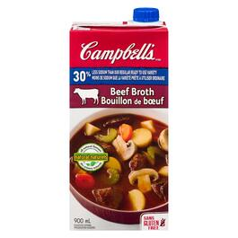 Campbell's Beef Broth  30% Less Sodium - 900ml